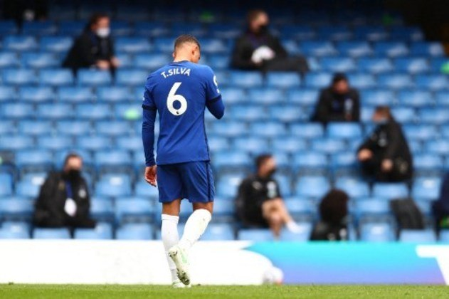 Thiago Silva - Chelsea (Inglaterra) - Zagueiro - 36 anos - Contrato até:  30/06/2021