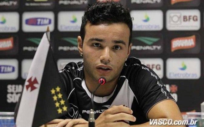 Thiaguinho -Anteriormente vinculado ao Cruzeiro, chegou ao Vasco em 2013, disputou oito partidas e fez um gol. Está no futebol mineiro há três anos.