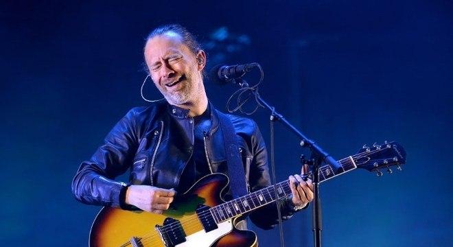 Thom Yorke, do Radiohead, no Primavera Sound