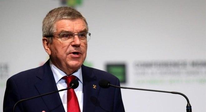Thomas Bach mantém Jogos Olímpicos de 24 de julho a 9 de agosto