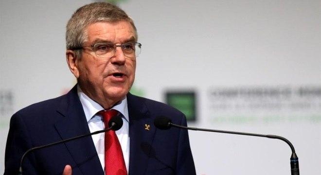 Presidente do Comitê em coletiva na Conferência Mundial Antidoping em Katowice