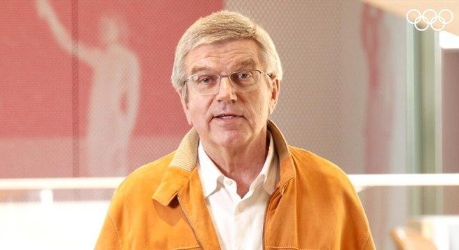 Thomas Bach, o presidente do COI