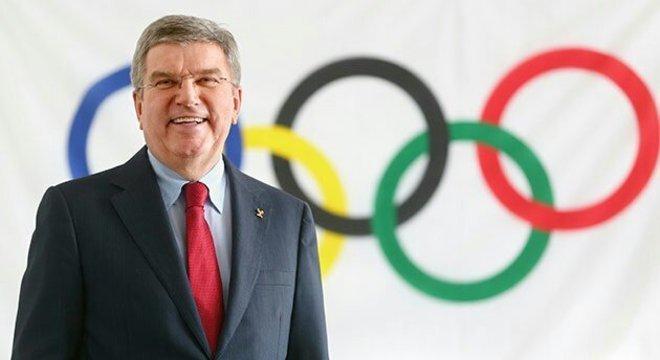 Thomas Bach é presidente do COI desde 2013