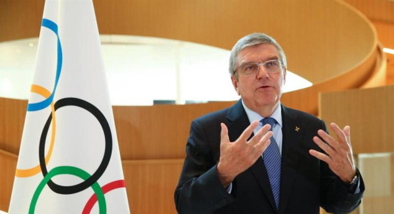 Thomas Bach acredita que grande parte dos atletas estará vacinado nas Olimpíadas