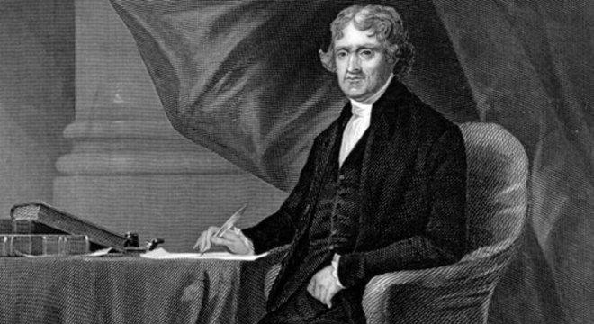 Thomas Jefferson previa que a ocupação francesa de Louisiana levaria a conflitos nos EUA