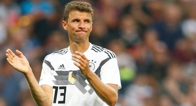 Müller, atacante da Alemanha, poderá bater dois recordes na Copa de 2018