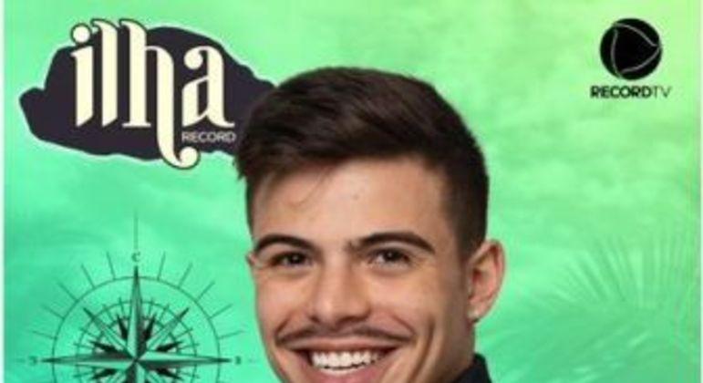 Thomaz Costa. Foto: Record TV