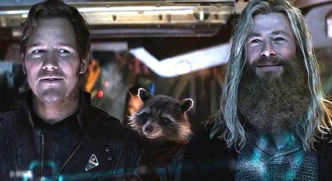Thor e Guardiões da Galáxia