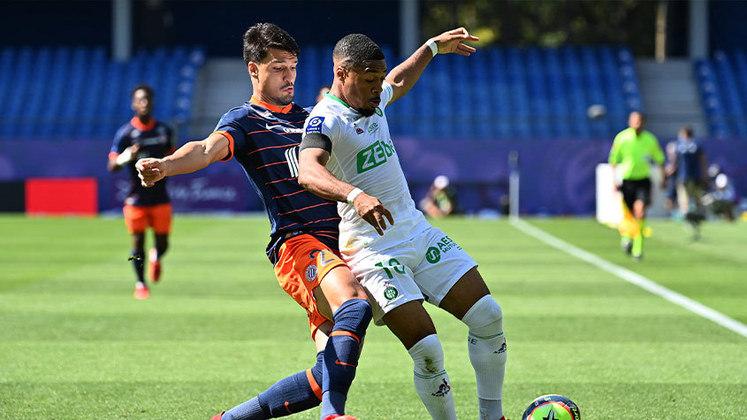 Thuler: o Montpellier superou o Saint-Étienne, e a equipe não sofreu gols graças a boa atuação de Thuler na defesa.