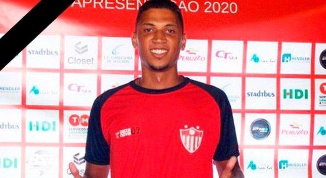 Tiago Cortes chegou ao Guarany de Bagé no começo de 2020