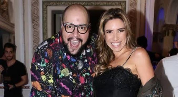 Tiago e Patricia Abravanel