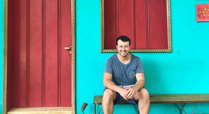 Tiago Lopes acredita que viajar é mais que passear