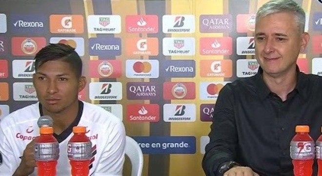 Rony já tinha conversado com Tiago Nunes. Queria jogar pelo Corinthians