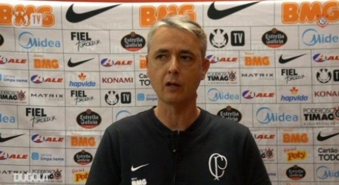 Tiago Nunes - Coletiva Corinthians