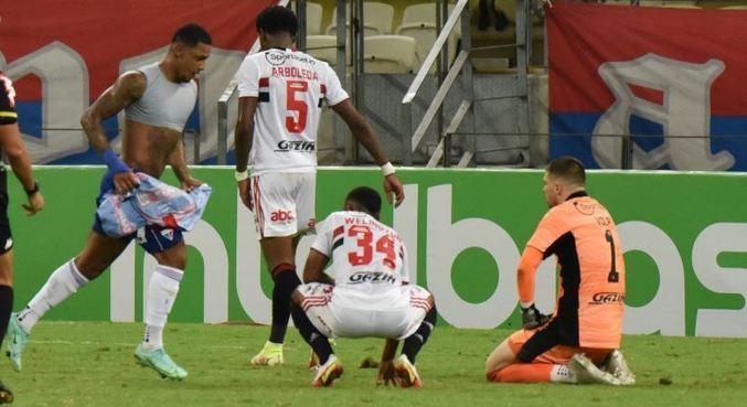 Volpi voltou a falhar nesta quarta-feira (15), contra o Fortaleza, pela Copa do Brasil