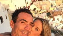 Tici Pinheiro se declara para César Tralli: 'Há 7 anos que eu te amo'
