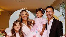 Ticiane Pinheiro e César Tralli celebram 2 anos da filha Manu
