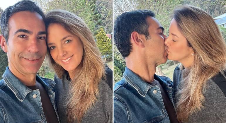 Ticiane Pinheiro se declara ao marido: 'Que alegria ter você'