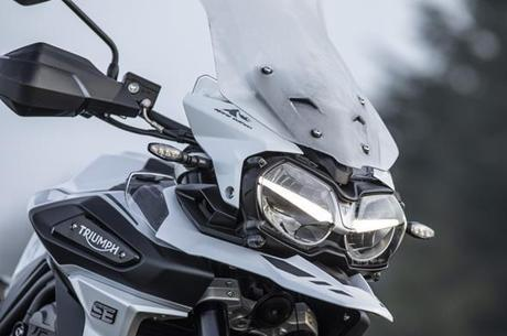 Detalhe da Tiger 1200 Alpine