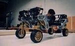 A primeira versão do TIGER é o X-1, que está sendo desenvolvidopelo New Horizons Studio da Hyundai, localizado na Califórnia, uma divisão da montadora dedicada a desenvolver veículos diferentes dos carros tradicionais