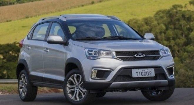 Tiggo 2, SUV de entrada da Caoa-Chery, também integra o portfólio de nova ação de vendas