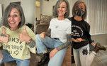 Se você acha que está muito velho para as dancinhas do TikTok, a americana Lonni Pike certamente vai te convencer do contrário. De jeans rasgado, botas Doctor Martens e cabelo grisalho, ela dá um show de estilo na rede social e reúne mais de 400 mil seguidores. Conheça a influencer