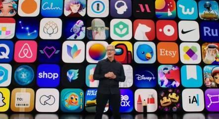 Tim Cook abriu o WWDC2021, evento para programadores