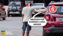 MEMES: São Paulo é atropelado pelo Inter e vira piada na web