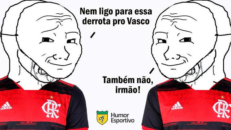 Time comandado por Marcelo Cabo venceu por 3 a 1, encerrou longo jejum sem vitórias sobre o rival e os vascaínos aproveitaram para tirar onda nas redes sociais. Confira os memes na galeria! (Por Humor Esportivo)