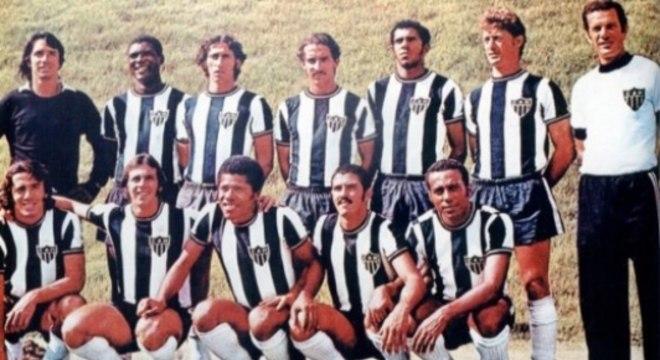 Time do Atlético-MG campeão brasileiro em 1971