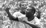 Pelé, campeão com a seleção brasileira em 1958, 1962 e 1970