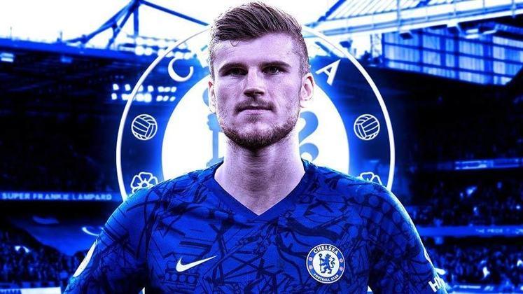 TIMO WERNER - Vai jogar pelo Chelsea, que pagou R$ 334 milhões ao Leipzig para ter o atacante (53 milhões de euros)