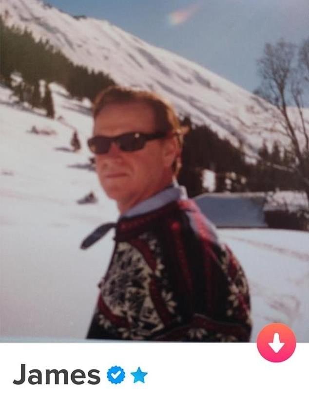 James tem 62 anos e está no Tinder