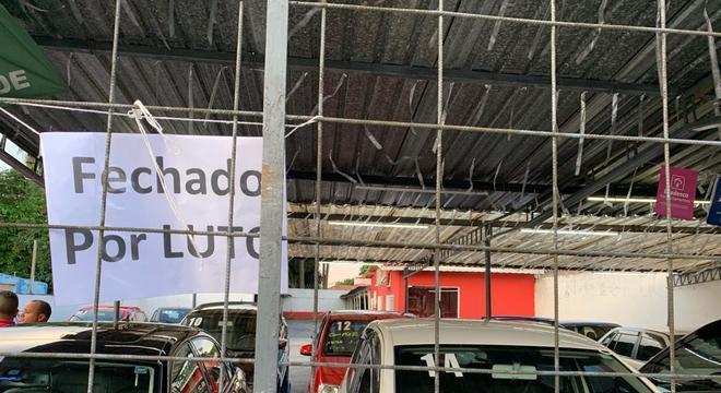 Lava-rápido da primeira vítima do ataque em Suzano Jorge Antônio  de Moraes