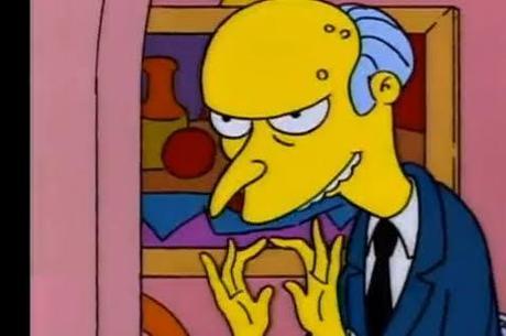 Sr Burns: centralizador, é adequado para uma equipe mais inexperiente