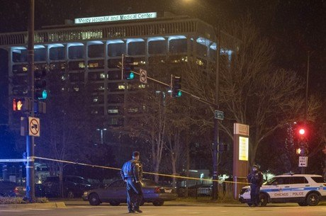 Atirador matou a ex-noiva do lado de fora do hospital