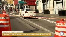 Tiroteio em frente a shopping causa pânico na zona sul de São Paulo