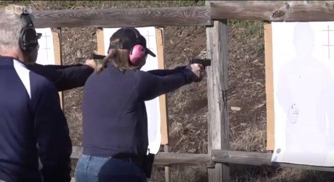 Qualificação de professores é baseada na prática de tiros ao alvo