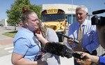 Polícia dos EUA prende suspeito de tiroteio em escola no TexasVEJA MAIS