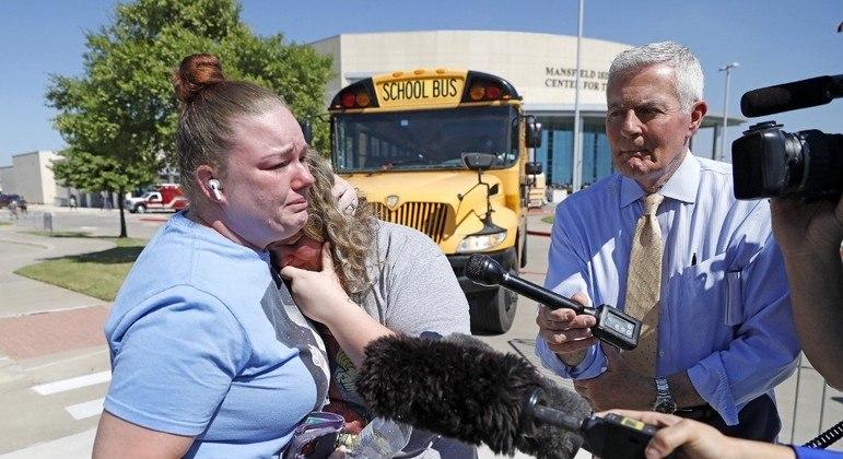 Grande parte dos estudantes conseguiu sair da escola sem ser ferida