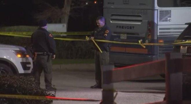 O tiroteio ocorreu por volta da 1h30 do horário local