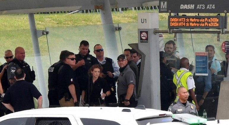 Ataque realizado em um terminal de transporte público próximo ao Pentágono