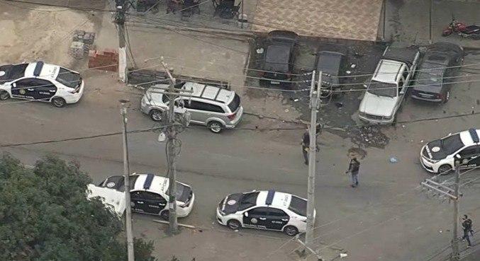 Operação é comandada por uma divisão da Polícia Civil do Rio de Janeiro