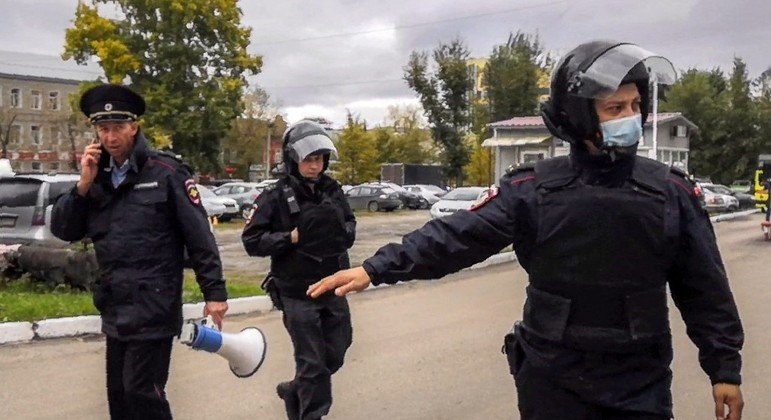 Polícia russa feriu e prendeu o responsável pelo ataque à tiros em universidade
