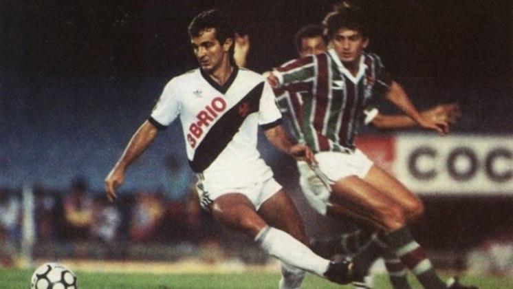 Tita - Teve duas passagens pelo Vasco como jogador. Foi treinador em 2008.