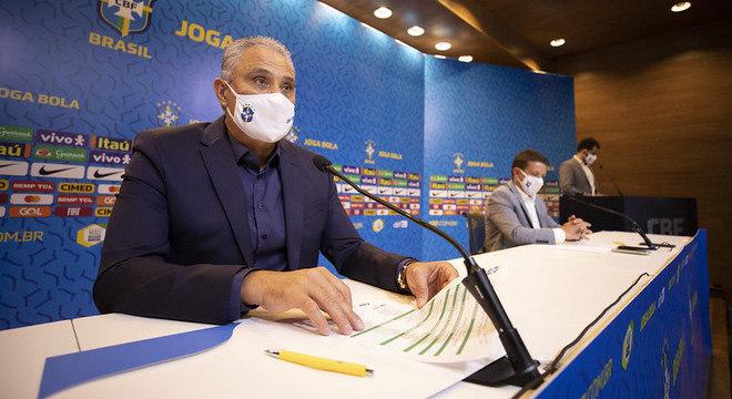 Tite convocou seleção para jogos contra Venezuela e Uruguai, em novembro