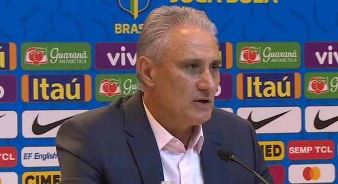 Tite na convocação do Brasil para últimos amistosos do ano