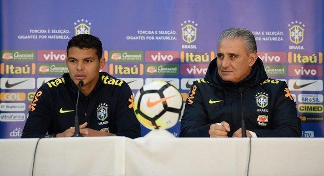 Tite quer Thiago Silva, na Copa de 2022. Escolha pelo Chelsea foi perfeita