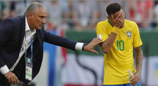 Tite não tem o respaldo da CBF para deixar Neymar fora da Copa América