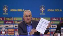 Tite anuncia convocados para partidas contra Equador e Paraguai